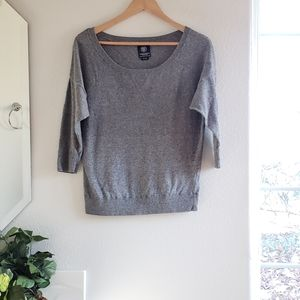 American Eagle Outfitters Dark Gray Sweater Medium
